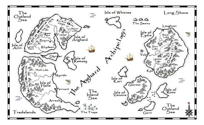 Anghard Archipelago BW